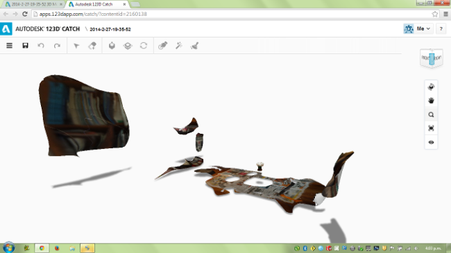 123D screenshot