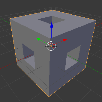 positive menger sponge base unit