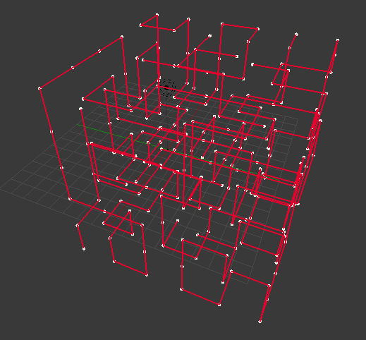 lattice maze path