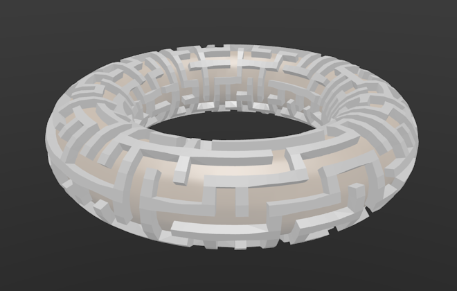 solid walls on torus