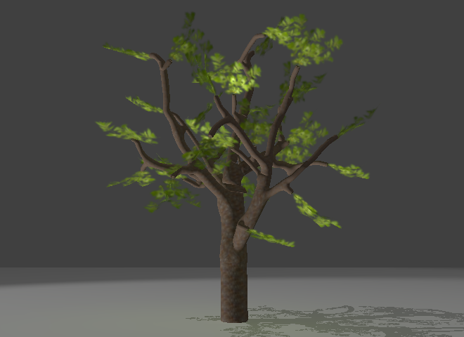 Sverchok Tree Generator - Look Think Make