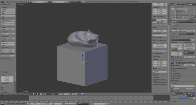 Blender screenshot 3