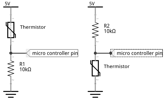 thermistor read schematic